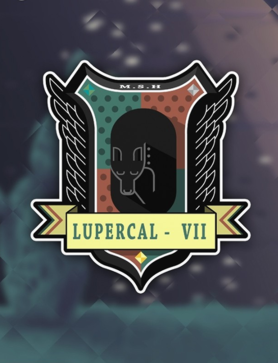 Lupercal VII - An emblem for a fictional Mars colony
