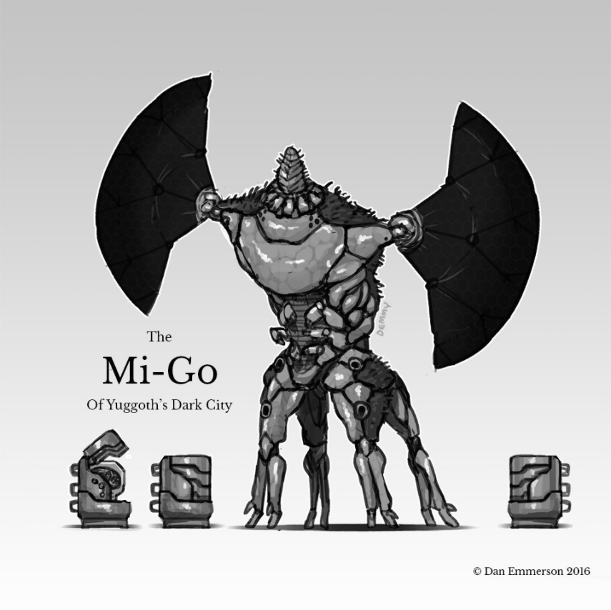 Mi-Go - a Lovecraftian being